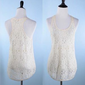 Wilfred RacerBack Lace Top